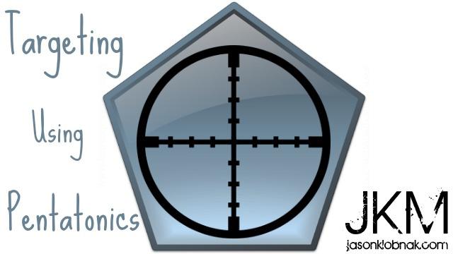 Improv Tip Week #6- Targeting Using Pentatonics