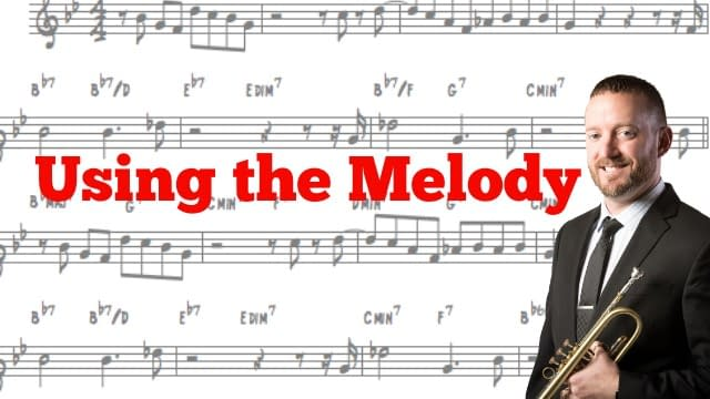 Improv Tip Week #18-Using the Melody p1